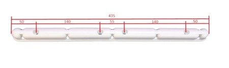 Plastic arm for ceiling dryer - white (2 pcs)